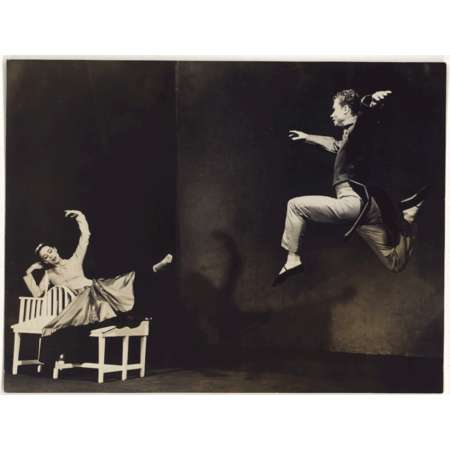 Martha Graham and Merce Cunningham in Letter to the World