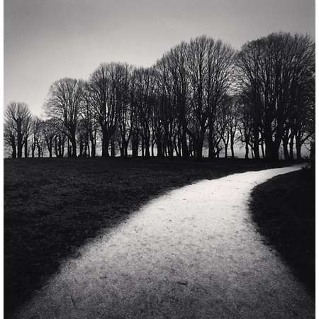 Moonlit Path, Vezelay, Burgundy, France