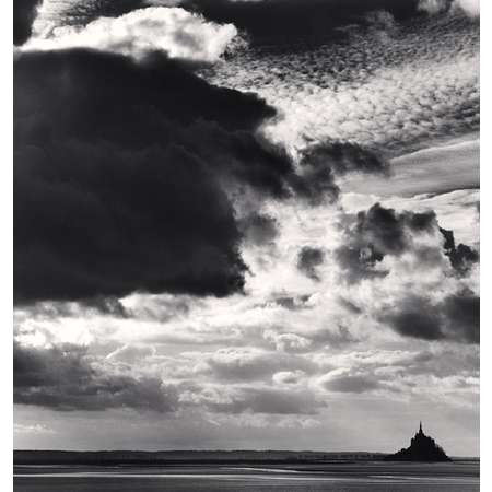 Threatening Cloud, Mont St. Michel, Normandy