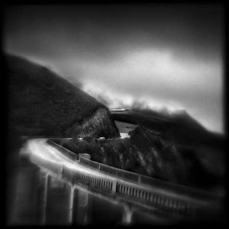 Bixby Bridge, 6:36AM