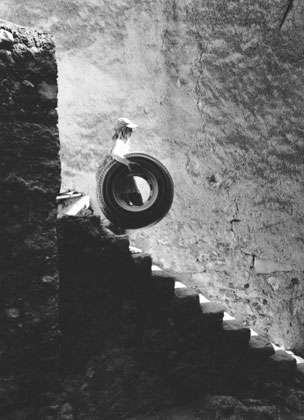 Tire and Stairs, 2005