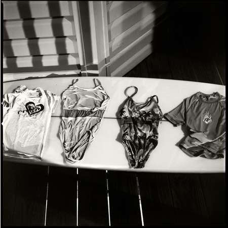 Bathing Suits in Moonlight, Galveston, 2006