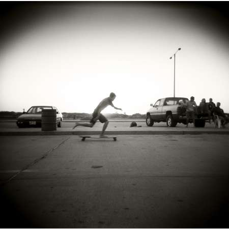 Skateboarder, South Padre Island, 2001