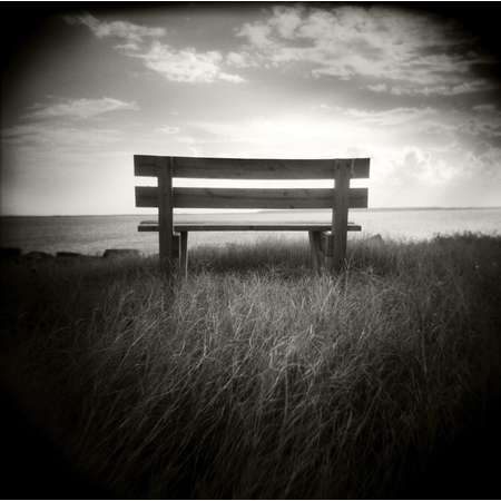 Park Bench, South Padre Island, 2001