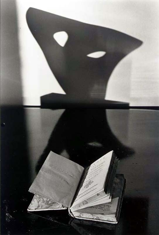 Andre Kertesz, Still life with book and sculpture