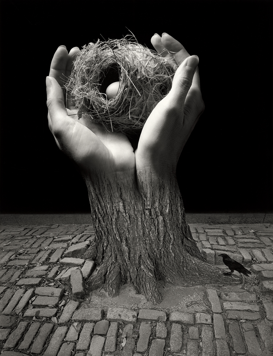 Jerry Uelsmann Journey into Night Catherine Couturier Gallery