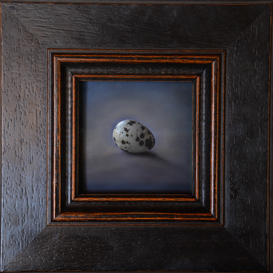 Kate Breakey, Quail Egg 23, Catherine Couturier Gallery