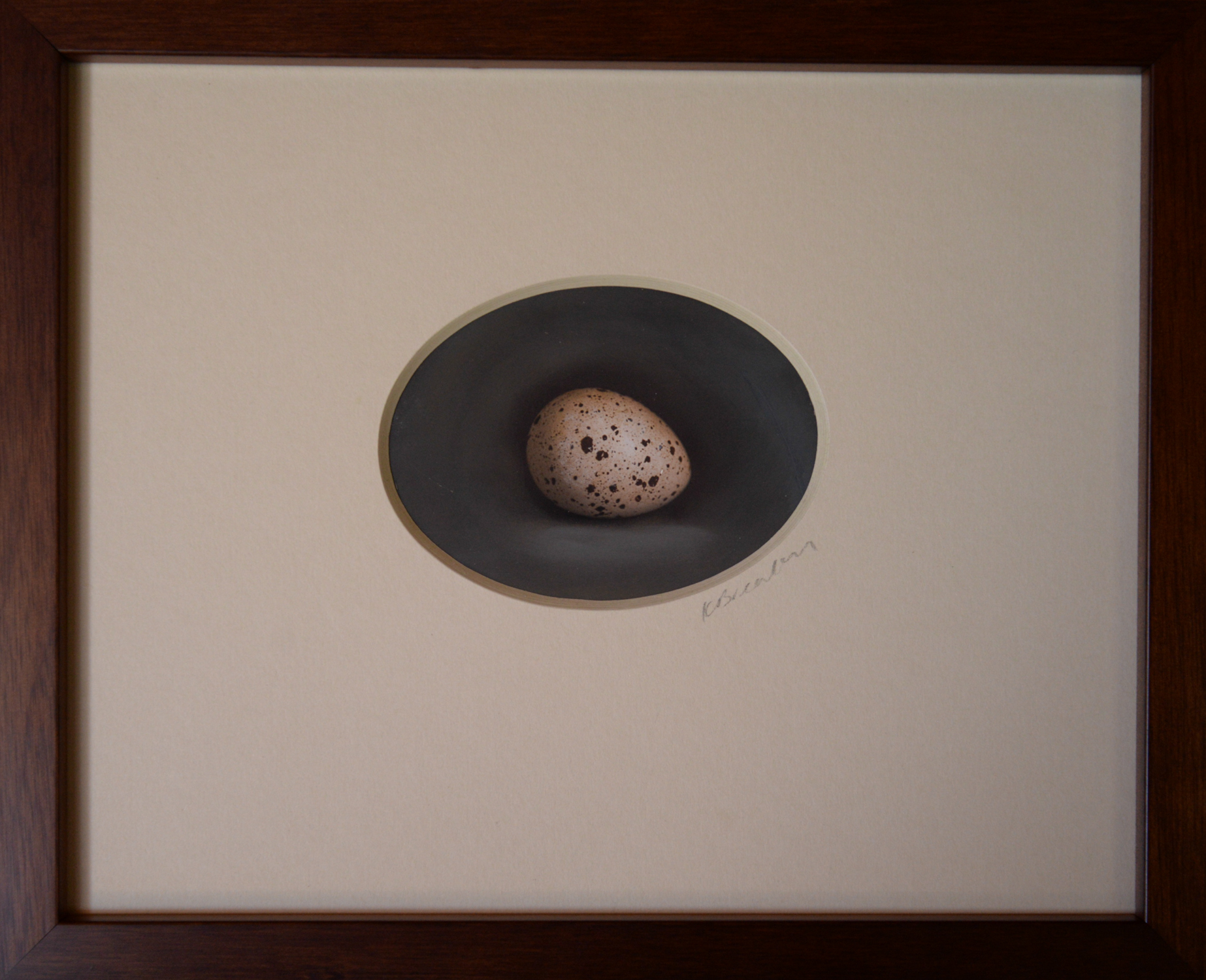 Kate Breakey, Quail Egg 30, Catherine Couturier Gallery