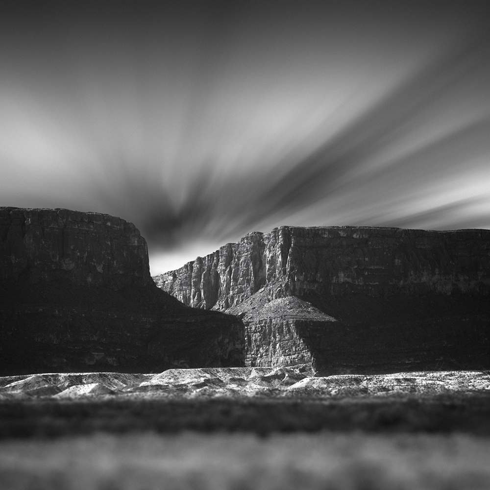 Mabry Campbell, Santa Elena Canyon No. 1, 2020, Catherine Couturier Gallery