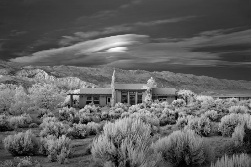 Mitch Dobrowner, Desert House, Catherine Couturier Gallery
