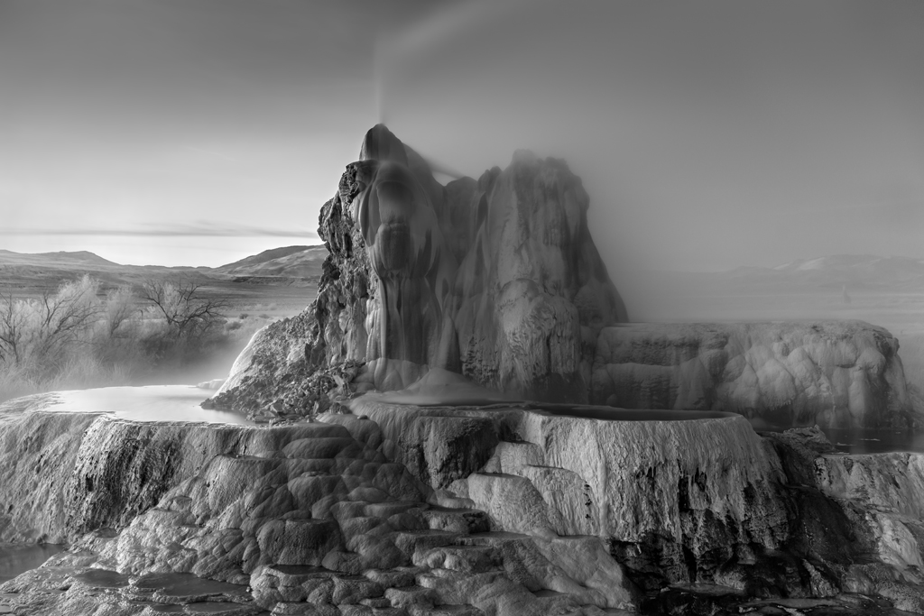 Mitch Dobrowner, Fly Geyser, Catherine Couturier Gallery